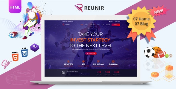 Reunir v2.0 - Sports Investment Templates Product Image