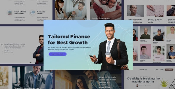 Quaid v1.0 - Financial and Accounting HTML Templates preview image