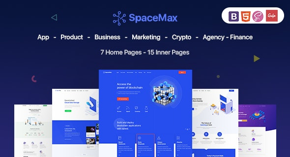 SpaceMax v1.0 - Multipurpose HTML Template preview image