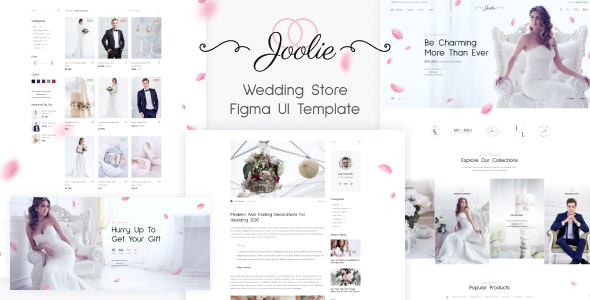 Joolie v1.0 - Wedding Store HTML Template preview image