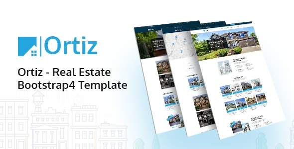 Ortiz v1.0 - Real Estate HTML5 Template preview image