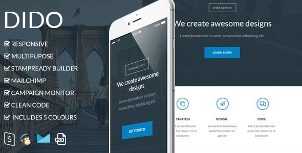 Dido v1.0 - Responsive Email Template preview image