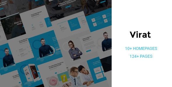 Virat v1.0.0 - Responsive Multi-Purpose HTML5 Template preview image