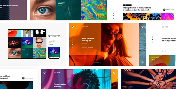 Ontold v1.0 - Creative Agency for Digital Age preview image