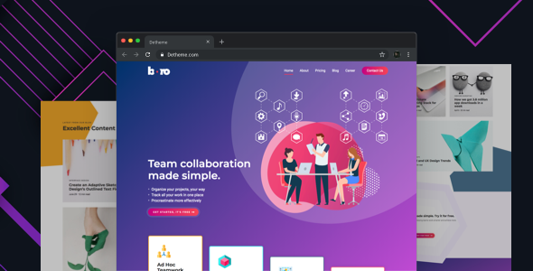 Boro v1.0 - HTML templates for SaaS & Apps Startup Company preview image