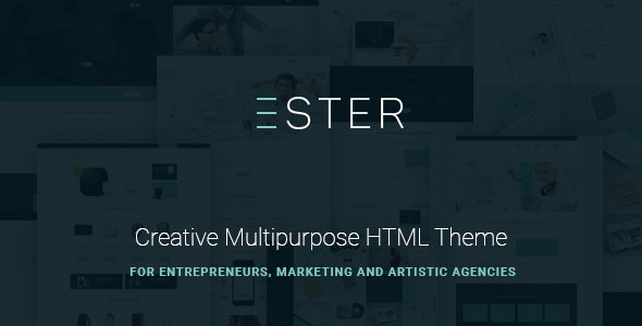 Ester v1.0.0 - Multipurpose Site Template preview image