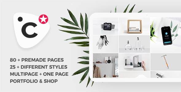 Concept v1.0 - Creative and Business, Multipurpose Template preview image