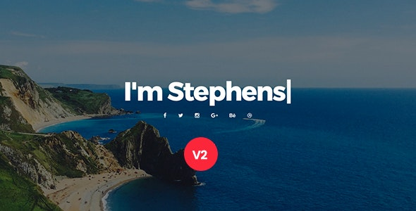 Stephens v2.0 - Personal Portfolio Template preview image