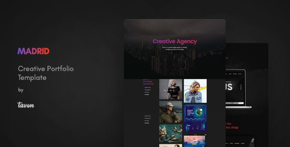 Madrid v1.0 - Creative Portfolio Template preview image