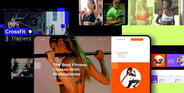 Cora v1.0 - Responsive Sport Clubs HTML Template preview image