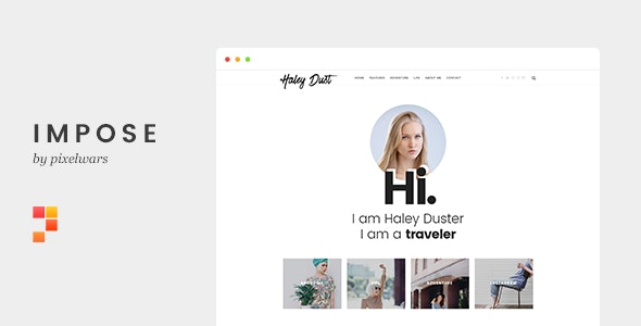 Impose v1.0 - Template For Bloggers preview image
