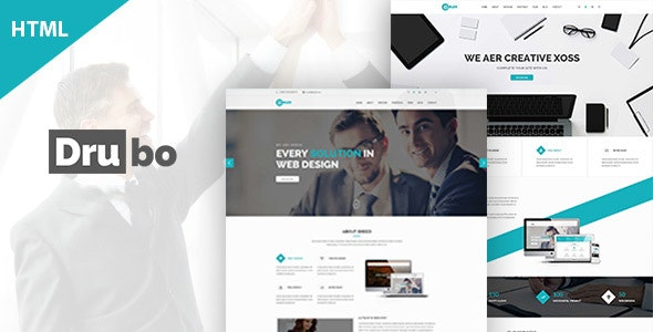 Drubo - Multipurpose HTML Template preview image