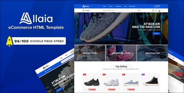 Allaia v1.0 - eCommerce HTML Template preview image