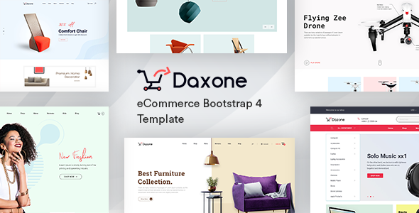 Daxone v2.0 - eCommerce HTML Template preview image