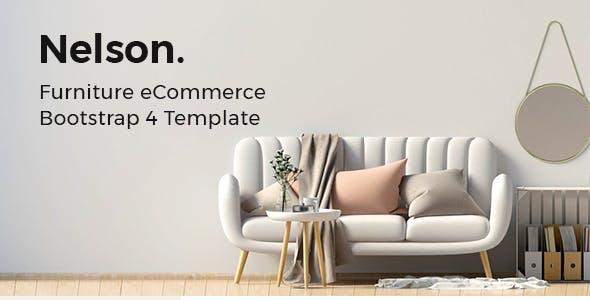 Nelson v1.0 - Furniture eCommerce Bootstrap 4 Template preview image