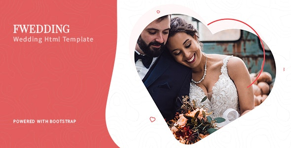 Foxewedding v1.0 - Beautiful Wedding Template preview image