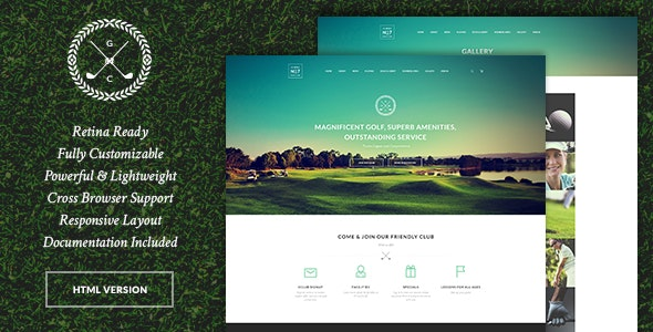 N7 v1.0.3 - Golf Club, Sports & Events Site Template preview image
