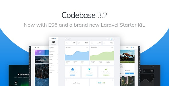 Codebase v3.2 - Bootstrap 4 Admin Dashboard Template & Laravel 6 Starter Kit preview image