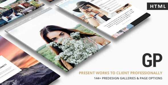 GrandP v1.0 - Photography HTML Template preview image