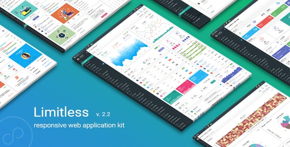 Limitless v2.2 - Responsive Web Application Kit preview image