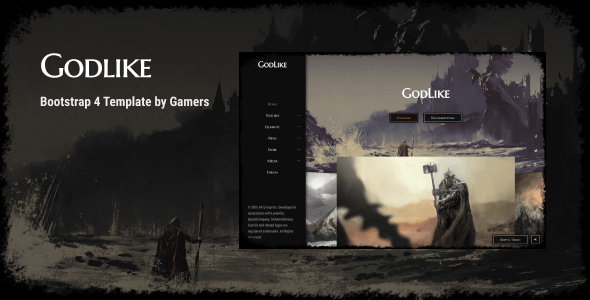Godlike v2.3.4 - The Game Template preview image