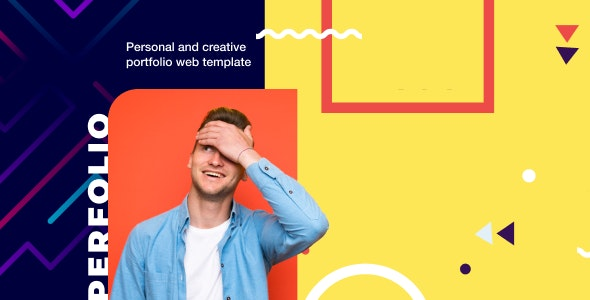 Perfolio v1.0 - Resume & Personal Website HTML Template preview image