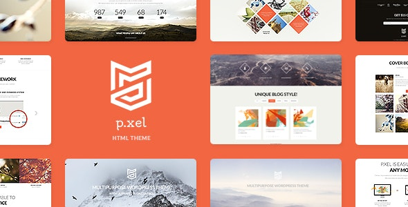 Pixel v1.0 - Multipurpose Site Template preview image