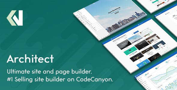 Architect v2.1.5 - HTML and Site Builder preview image