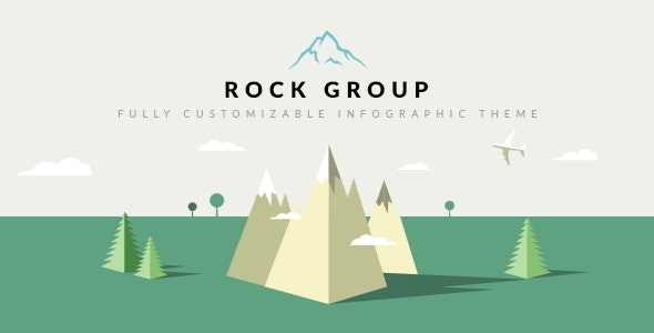 Rock Group v1.5 - Multipurpose Infographic Theme preview image
