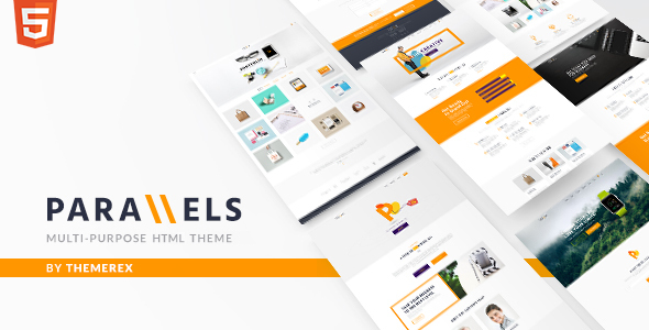 Parallels v1.0 - Multipurpose Site Template preview image